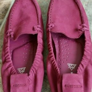 HUSH PUPPIES moccasins slippers purple US 7